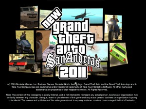 New San Andreas 2011
