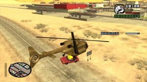 Helikopter mágnes