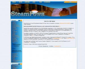 Az első php-nuke-os SteamPowa kinézet