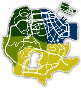 Gangstar Rio: City of Saints Térkép