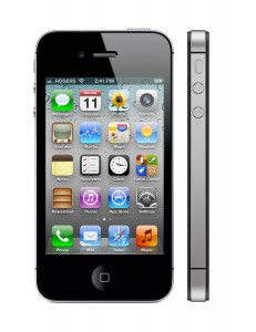 iPhone 4S iOS 5 Fekete Black