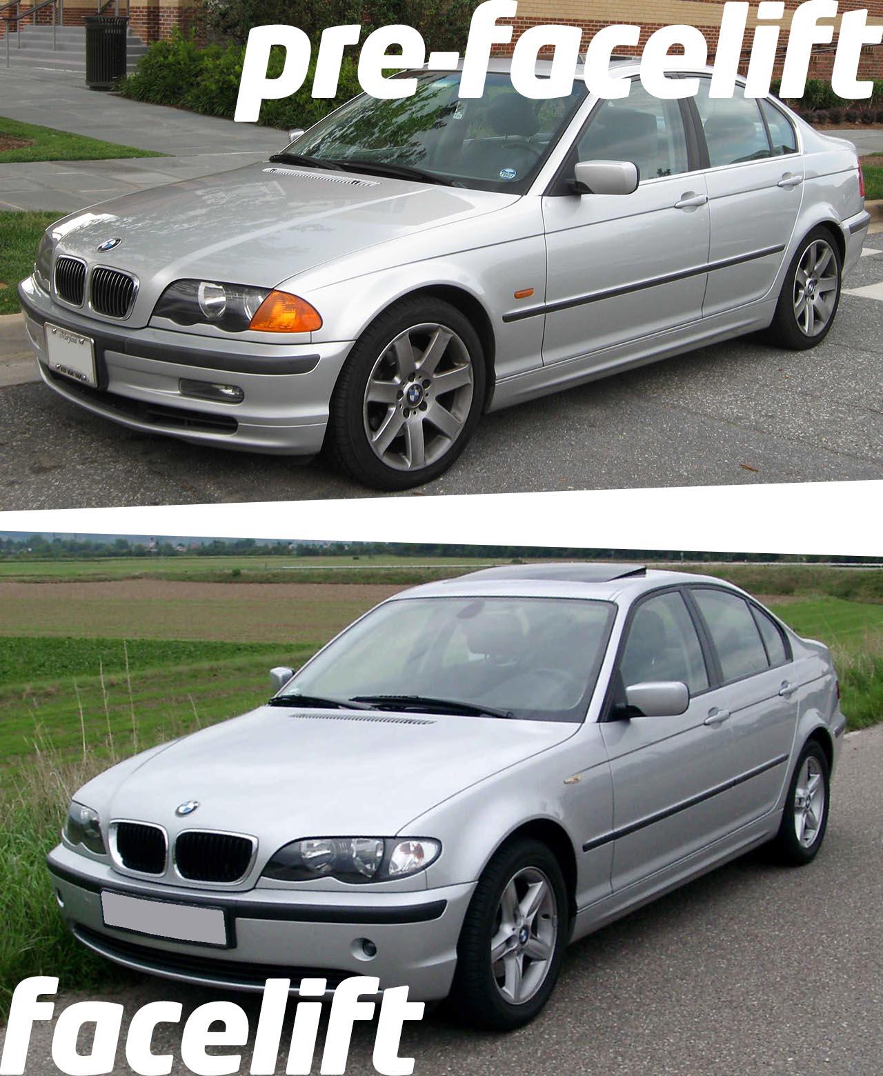 bmw-e46-sedan-saloon-pre-facelift-osszehasonlitas